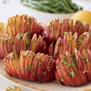 15 Simple and Quick Potato Recipes to Start off Your Day 2 Accordion Potatoes