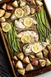 15 Simple and Quick Potato Recipes to Start off Your Day 9 Lemon Rosemary Chicken Spatula