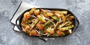 15 Simple and Quick Potato Recipes to Start off Your Day 8 Masala wedge fries