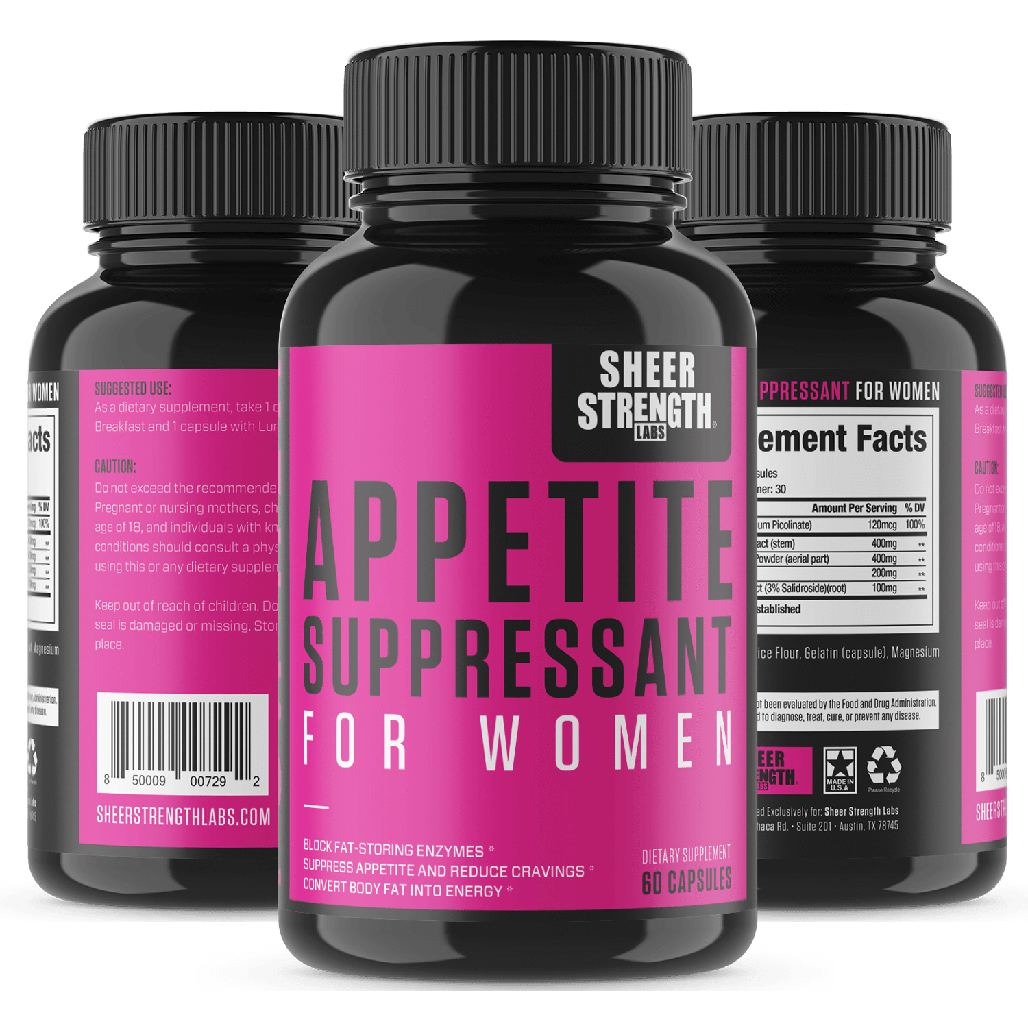 sheer strength suppressant